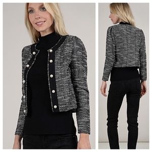 Cropped Pearl Jacket